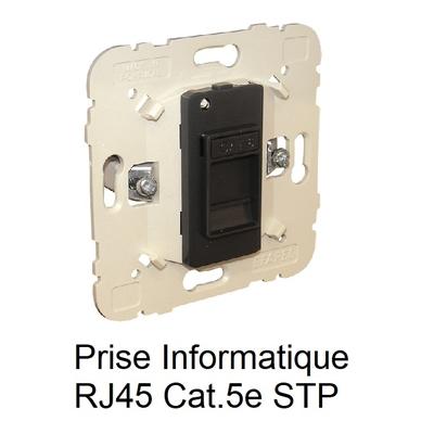 Mécanisme Prise informatique RJ45 Cat. 5e STP