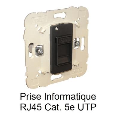 Mécanisme Prise informatique RJ45 Cat. 5e UTP