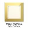 Plaque METALLO Or Perle 90910TOP