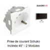 prise-de-courant-schuko-inclinee-45-2-modules-quadro-45132spm-noir-mat