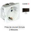prise-de-courant-schuko-2-modules-quadro-45126spm-noir-mat