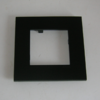 plaque simple 45910SPM Noir MAT