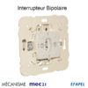 Mécanisme interrupteur bipolaire mec 21021