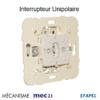 Mécanisme interrupteur unipolaire mec 21011
