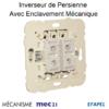 Mécanisme Inverseur de persienne avec enclavement mécanique mec 21291