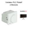 variateur-rotatif-2-modules-quadro-45216spm-noir-mat