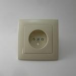 Prise de courant base ivoire efapel logus90