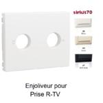 Enjoliveur pour prise R TV Sirius70776T