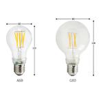 Dimensions LED Globe G80 de GE-lighting