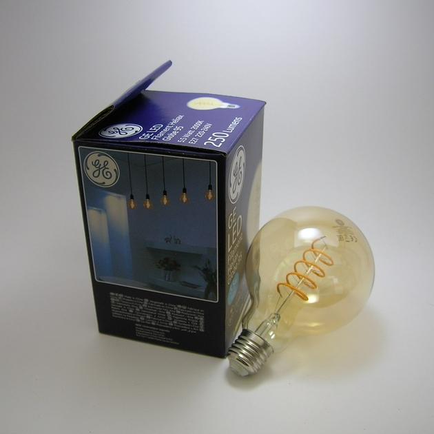 Ampoule GE LED Filament HELIAX G95-2