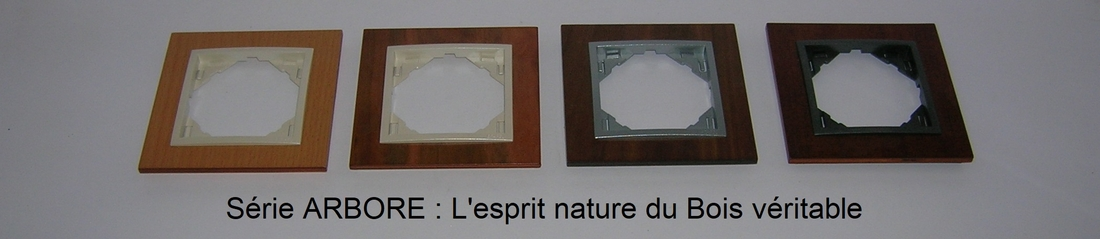 Présentation plaques logus 90 Arbore en bois