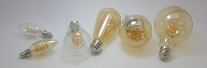 LED Filament Heliax Ge-lighting