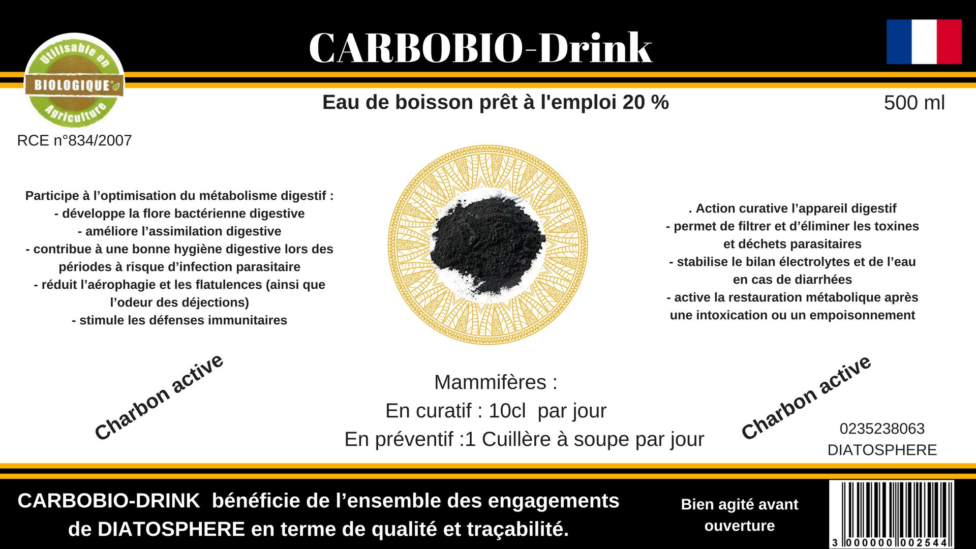 Carbobio-drink 20 %