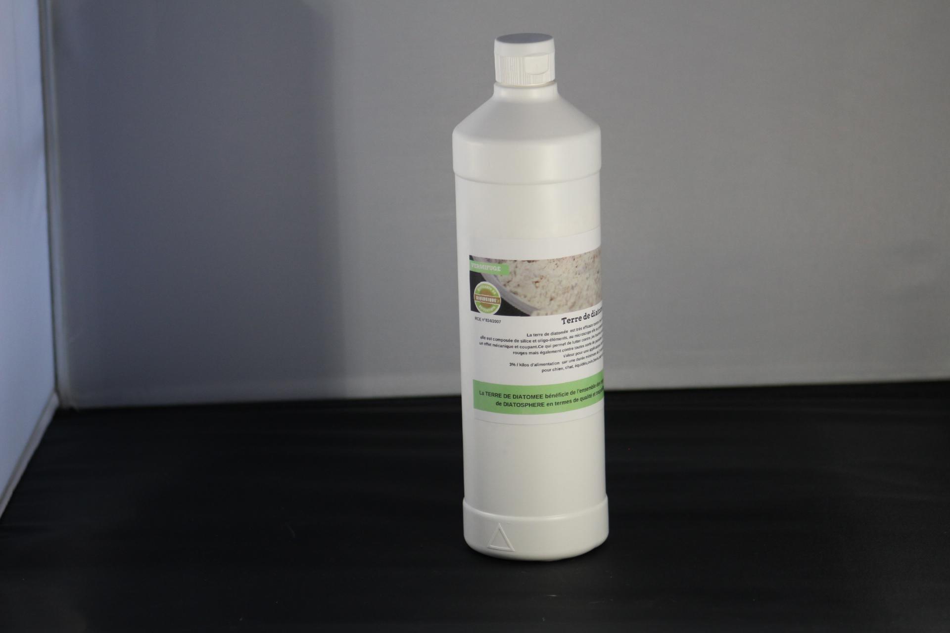 Terre de diatomée amorphe blanche de qualité alimentaire