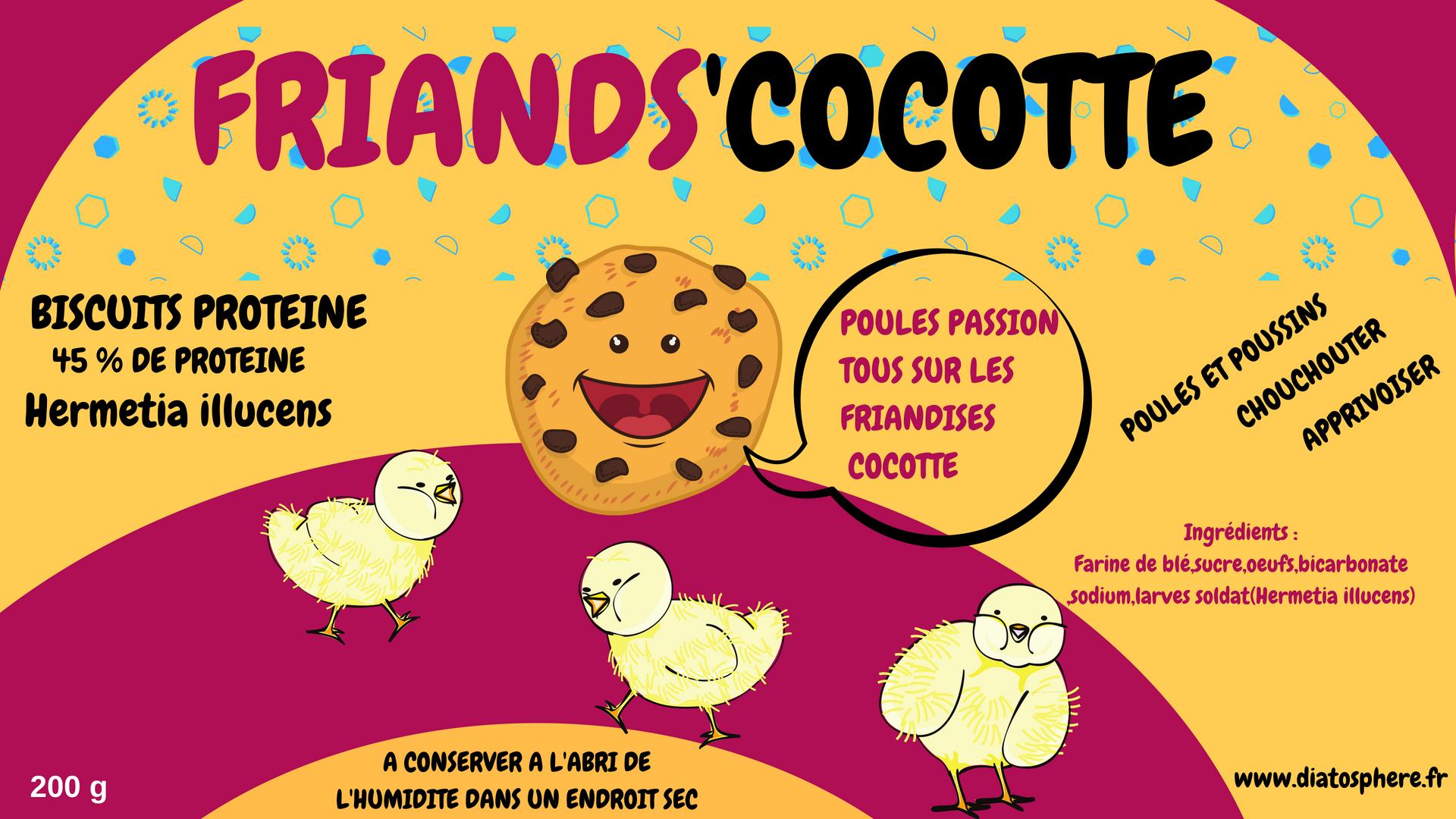 friand\'s cocotte protéines