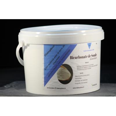 Bicarbonate de Soude Alimentaire  Seaux 3 kg