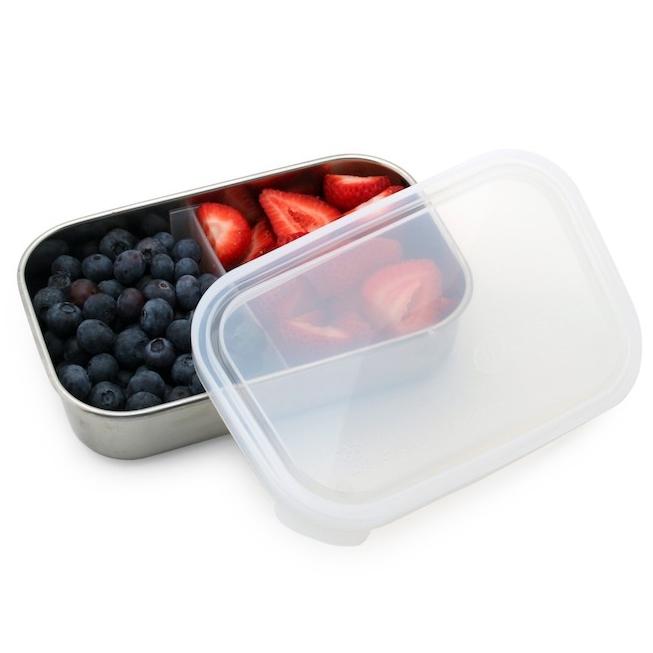 U KONSERVE boite inox rectangulaire à compartiments