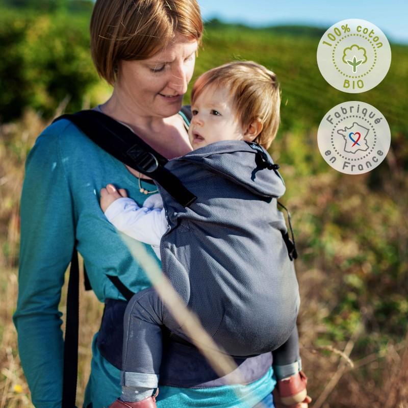 NEOBULLE porte-bébé néo préformé coton bio