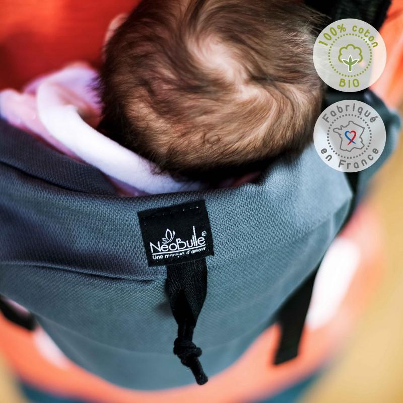 NEOBULLE porte-bébé néo préformé coton bio (3)