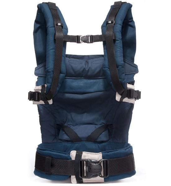 MANDUCA porte-bébé bleu marine chanvre et coton bio (3)