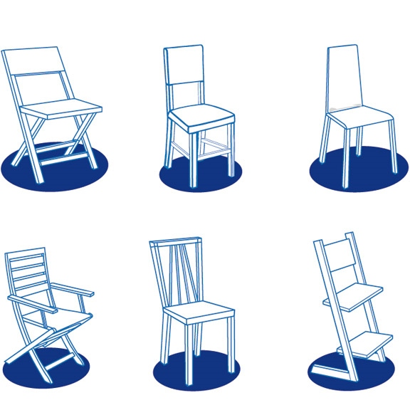 Totseat modèles chaises