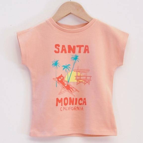 t-shirt-fille-santa-monica