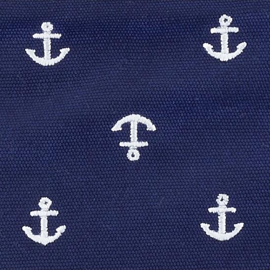 Manduca pure cotton blue anchors 3