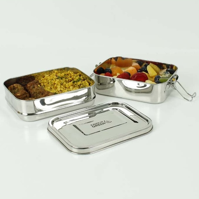 A SLICE OF GREEN Buruni lunch box inox étanche 2 niveaux(1300 ml) (3)