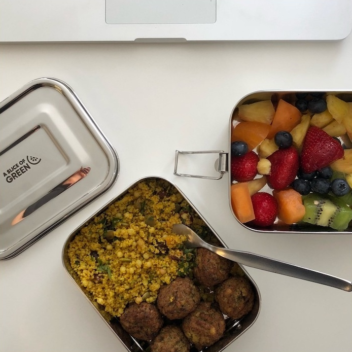A SLICE OF GREEN Buruni lunch box inox étanche 2 niveaux (1300 ml) (4)