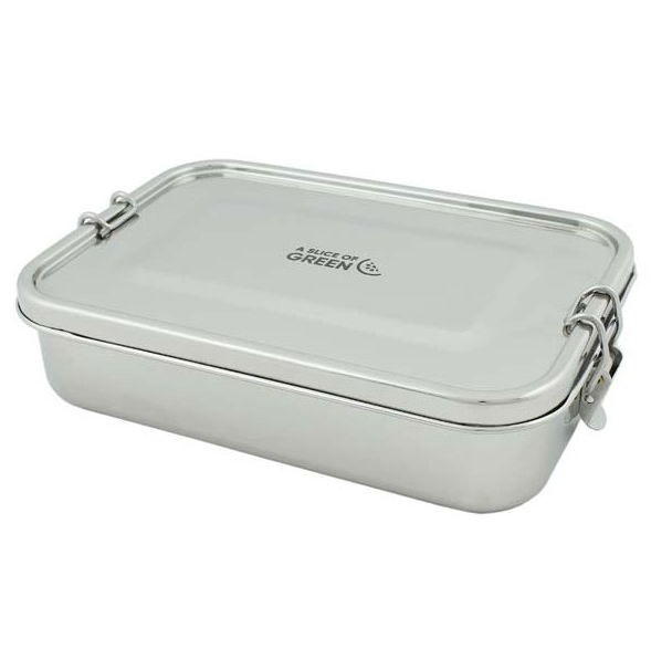 A SLICE OF GREEN Yanam lunch box étanche inox (1100 ml)