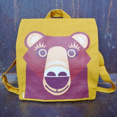 ours sac coton EN à bio dos PATE COQ HZRqA0W