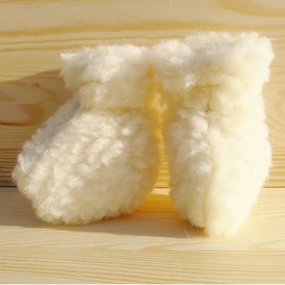 chaussons bébé laine