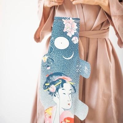 MADAME MO koinobori tattoo geisha coton bio (S)