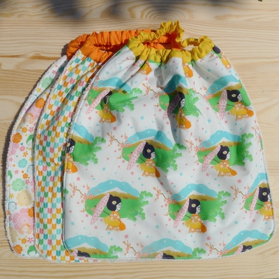 serviette de table enfant coton bio