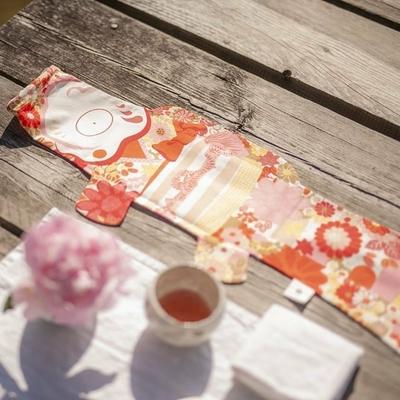 MADAME MO koinobori kimono girl coton bio (S)