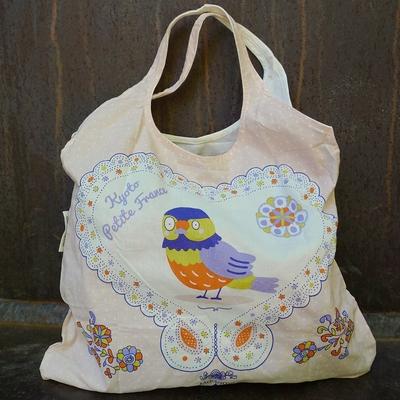 shopping bag coton bio Tori
