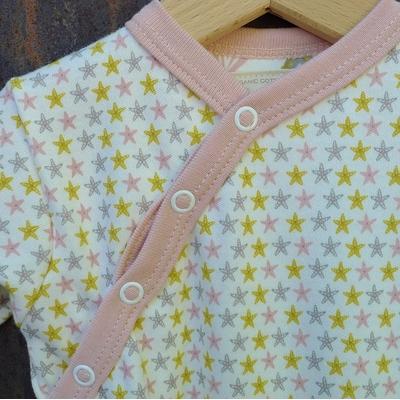 pyjama bébé coton bio étoiles de mer