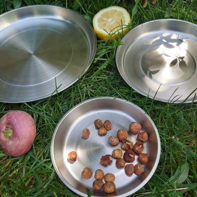 Assiette en inox - Fabriquée en Espagne