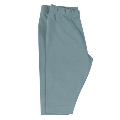 Caleçon long - 100 % coton bio - turquoise
