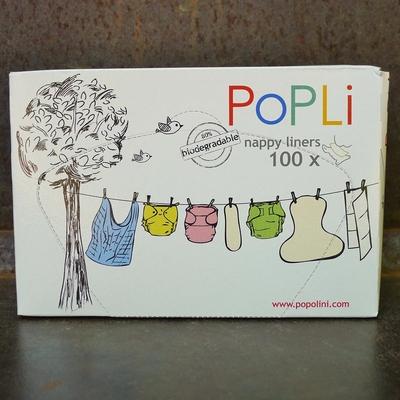 POPOLINI feuilles de protection Popli (x100)