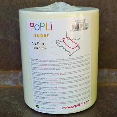POPOLINI rouleau de papier de protection Popli Super (x120 feuilles)