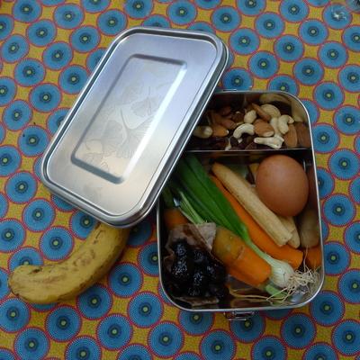 Boîte repas - Yummy - inox étanche - 1200 mL