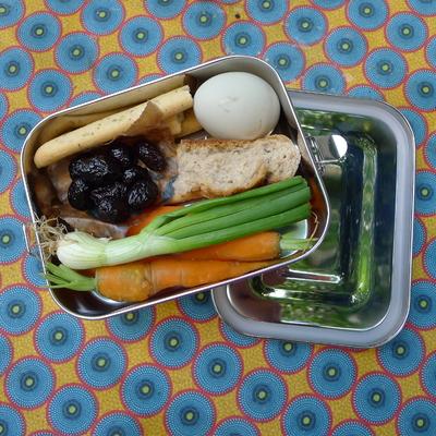 Boîte repas - Adoni - inox étanche - 675 mL