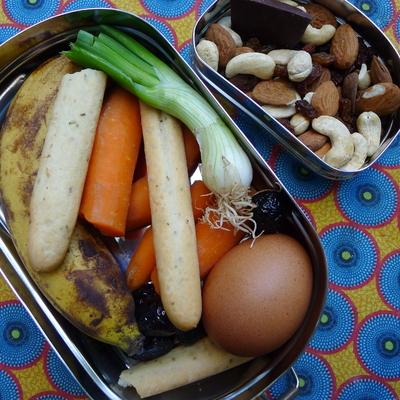 Boîte repas - Kangra - 100 % inox - 650 mL + petite boîte