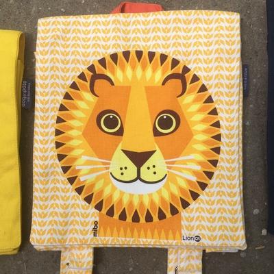 sac à dos - 100% coton bio - Lion