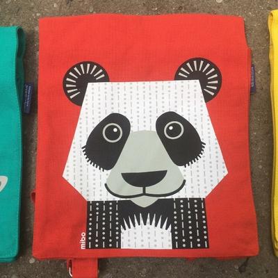Sac à dos - 100% coton bio - Panda
