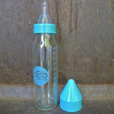 biberon verre 240 ml regul'air tétine silicone