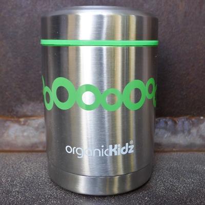 boîte repas inox isotherme 350 ml bulles