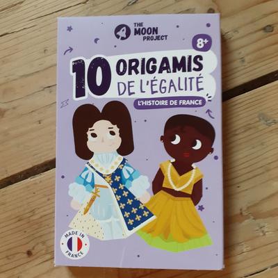 10 origamis de l'égalité : Histoire de France - Dès 8 ans