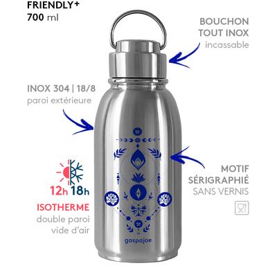 Gourde isotherme - 100% Inox - 700 ml